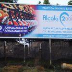 Valla publicitaria Gimnasio Alcalá 2000