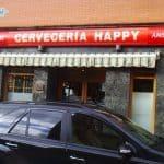 Rótulo Cervecería Happy