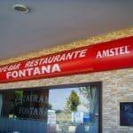 Rótulo Café-Bar Restarurante Fontana