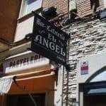 Rótulo Bar-Cafetería El Ángel