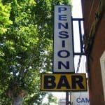 Rótulo Pensión Bar